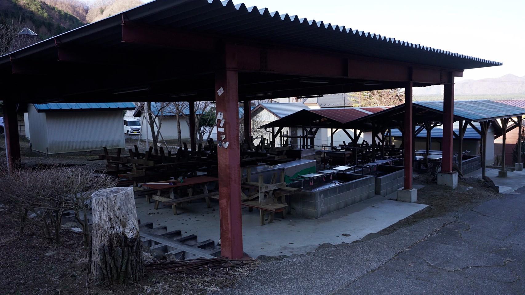 【西湖東側|富士河口湖町】『浜の家キャンプ場』攻略ガイド(駐車場・トイレ)