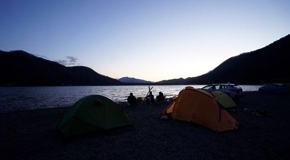 【富士河口湖町】『西湖・湖畔キャンプ場』攻略ガイド(駐車場・トイレ)