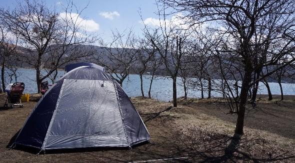 【山中湖畔でのんびり】『みさきキャンプ場』攻略ガイド(駐車場・トイレ)