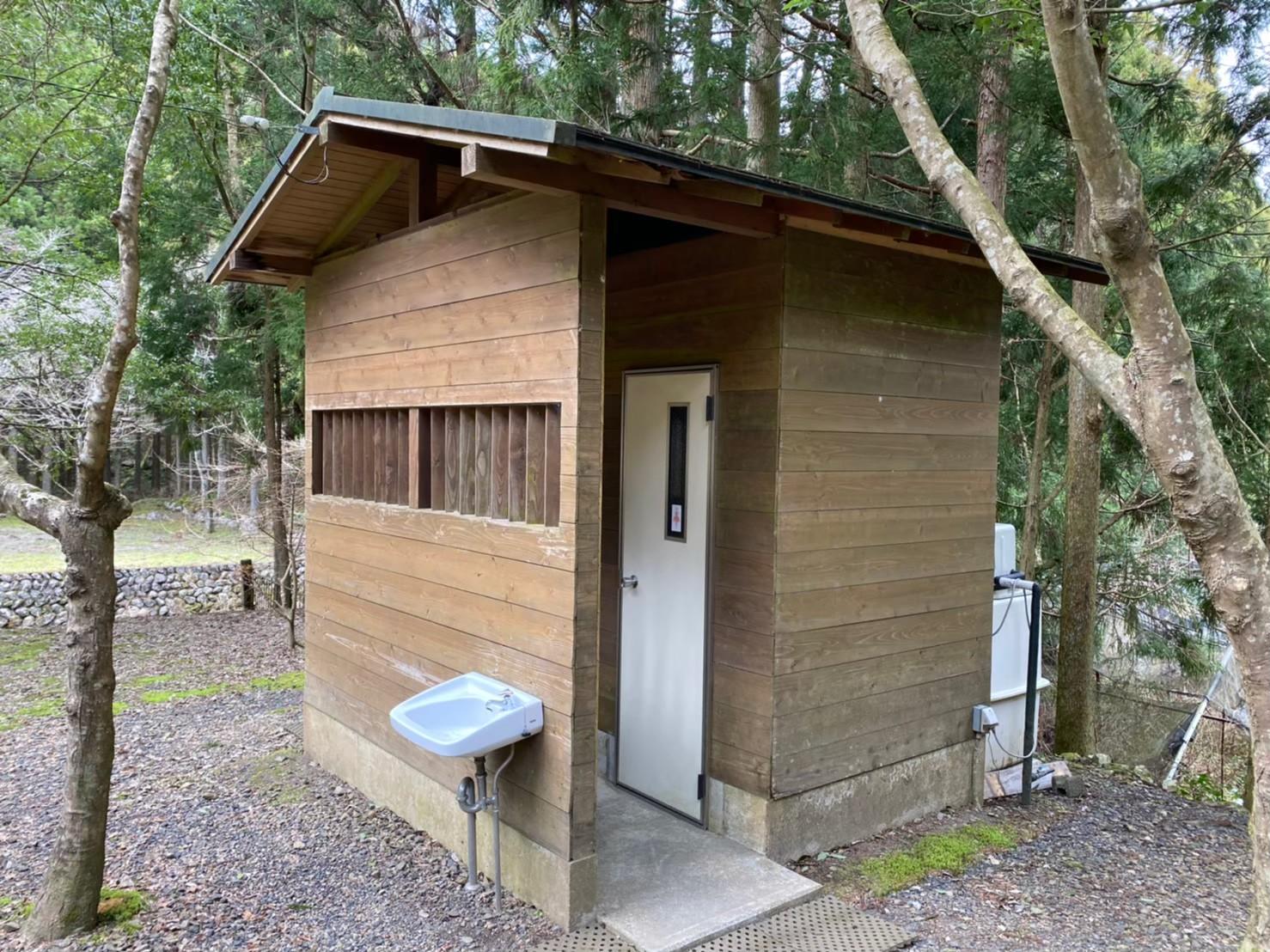 【自然豊かで静か 静岡市】『清郷キャンプ場』攻略ガイド(駐車場・トイレ)