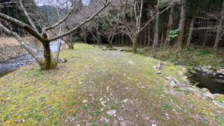 【自然豊かで静か|静岡市】『清郷キャンプ場』攻略ガイド(駐車場・トイレ)